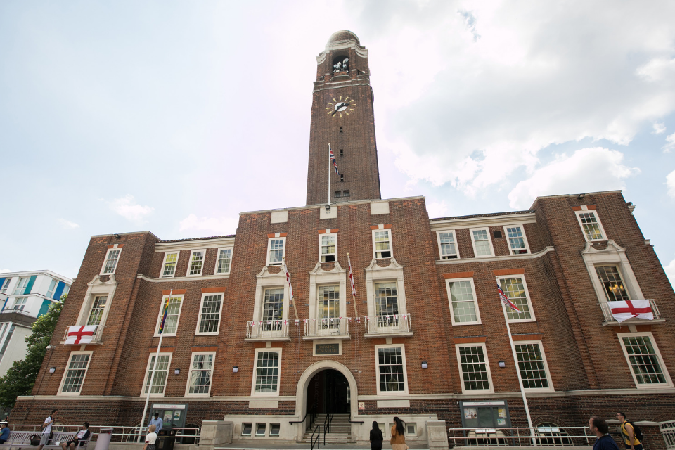 picture of Barking town hall