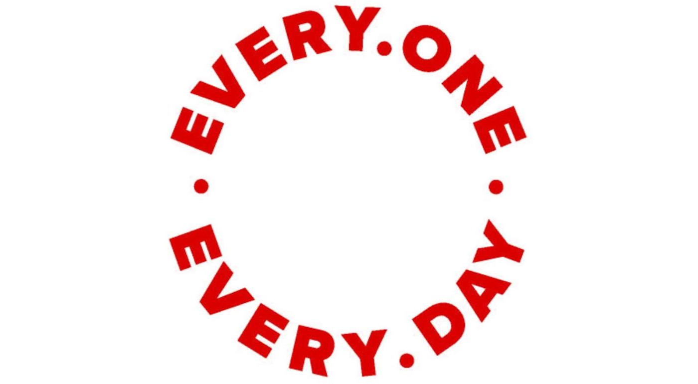 Every one every day logo