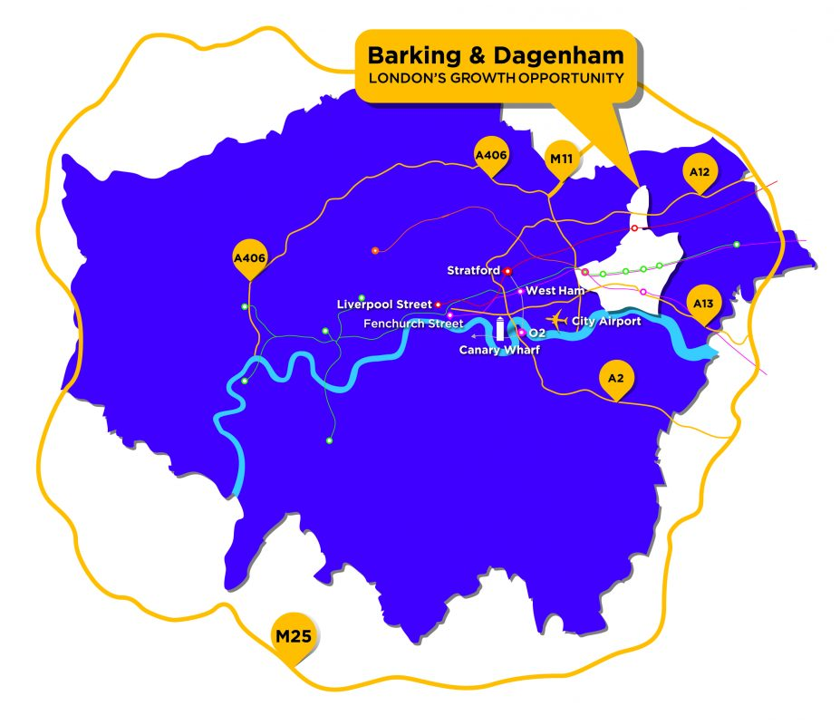 Barking and Dagenham at the heart of London's growth