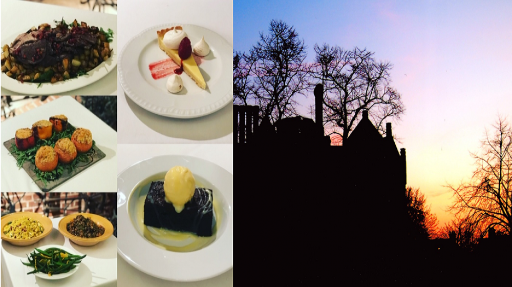 Valentines dinner at Eastbury Manor House