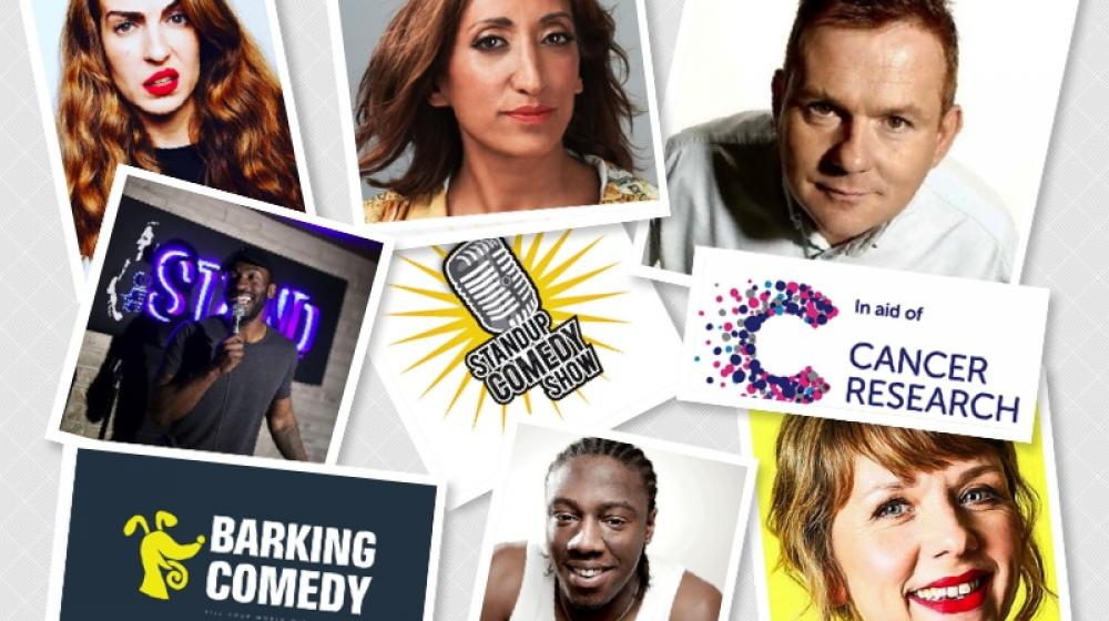 Barking Comedy fundraising for Cancer Research UK