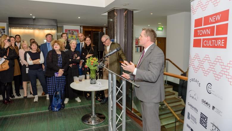 3. New Town Culture launch at Barking Town Hall