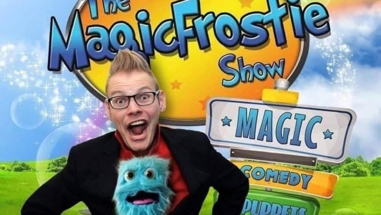 The Magic Frostie Show on Sunday at 11.05am