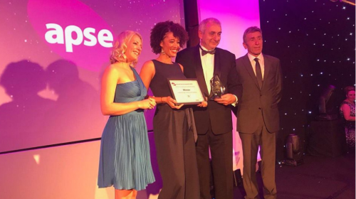 Barking and Dagenham presented with award