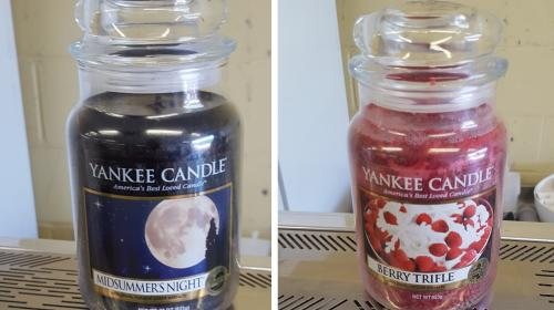 counterfeit yankee candles on sale at dagenham market